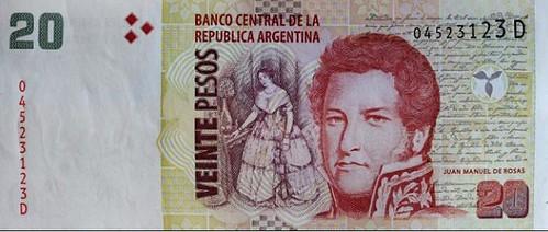 Panorama banknote image