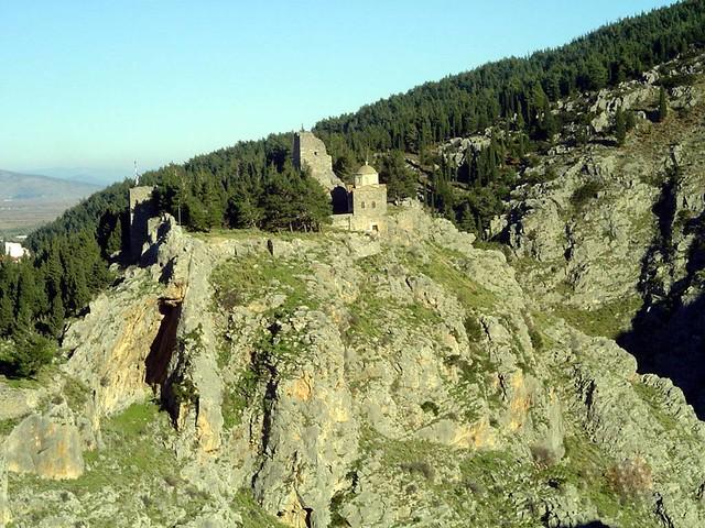 Στερεά Ελλάδα - Βοιωτία - Δήμος Λεβαδέων Το κάστρο στην πόλη της Λιβαδειάς
