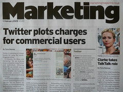 Marketing magazine, 11 February 2009 (Robin) Tags: marketing marketingmagazine wearesocial