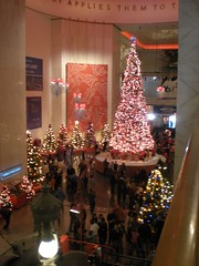 Museum of Science and Industry (neshachan) Tags: christmas xmas decorations chicago museum illinois christmastree christmasdecorations museumofscienceandindustry chicagoil museumofscienceindustry