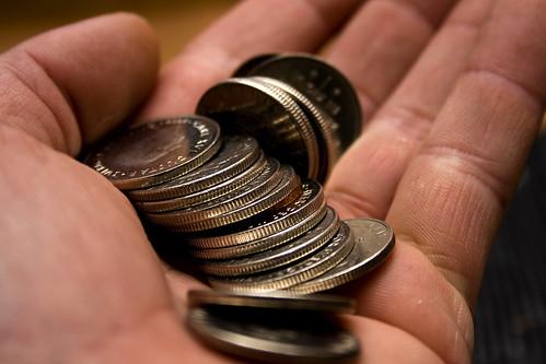 Handlar om pengar
