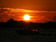 A beautiful sunset ( DD) Tags: sunset sea sun water beautiful clouds island israel boat exotic economic elections maldives obama crisis senate