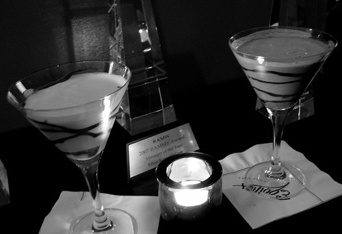 Chocolate Martinis at Equinox