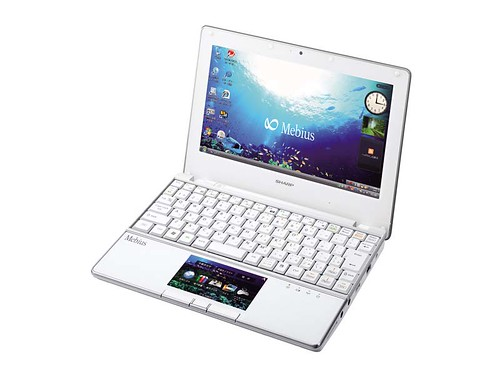 3462807686 0816fd4117 Sharp Mebius PC NJ70A Netbook mit LCD Trackpad