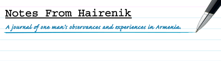 Notes From Hairenik