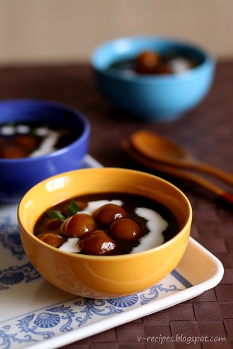 Glutinous Rice Ball Porridge