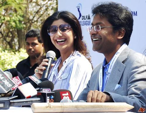 Shilpa Shetty, Lalit Modi