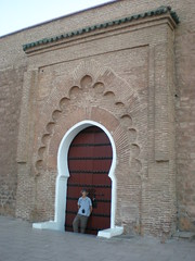 (Mohamed Amarochan) Tags: door mosque morocco maroc marrakech koutoubia