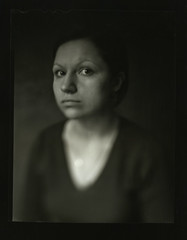 untitled by Roman Aytmurzin - Graflex 4x5, contact print. Scan from negative here  Best Viewed on Black