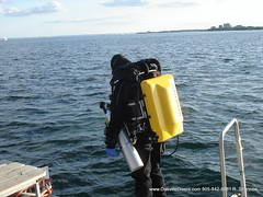 Rebreather Oakville Divers (Oakville Divers) Tags: lake toronto ontario canada night burlington fun orkney underwater bare sub dive deep scuba diving social canadian shipwreck mooring diver milton