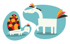 The animals rejected their names (medialunadegrasa) Tags: illustration juan carlos