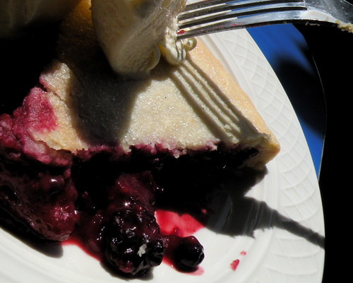 Betty's Pies, Two Harbors, MN: Bumbleberry Pie a la Mode