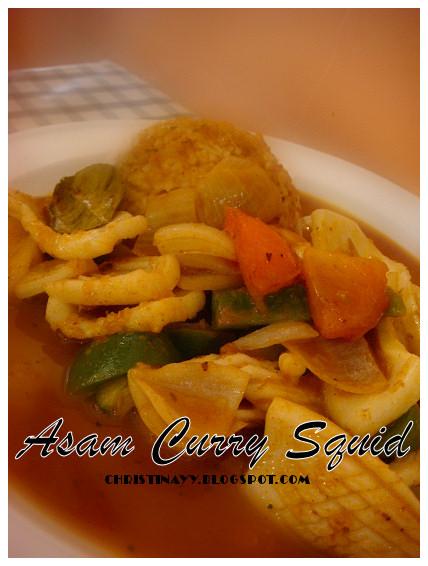 Royal Asian Restaurant: Asam Curry Squid