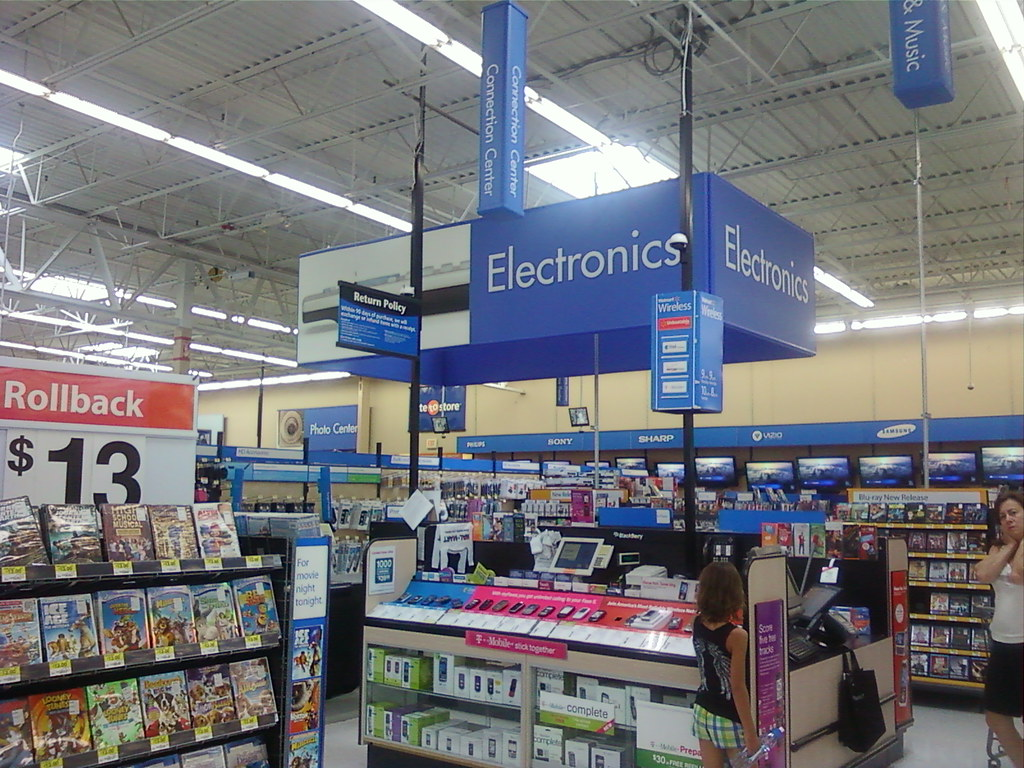 Wal-Mart - Owatonna, Minnesota - Wireless Kiosk