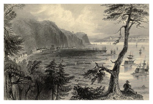 010 Deposito de madera de constuccion cerca de Quebec 1842