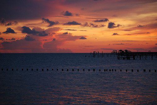 Lake Ponchartrain sunset 2