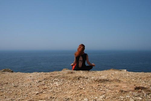 Cabo Sardao - e dietro, un faro.