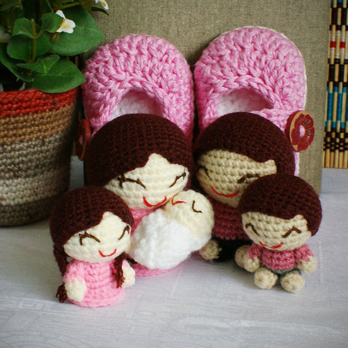 baby girl gift set - happy family