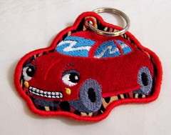 Cars Keychain - front