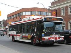 TTC 1063 (2) (F. Poon) Tags: toronto ontario canada bus ttc transit hybrid torontotransitcommission orionvii