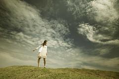 Sky view (nodie26) Tags: ocean life sea portrait people girl feel     taitung