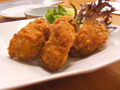 kaki - fried oysters