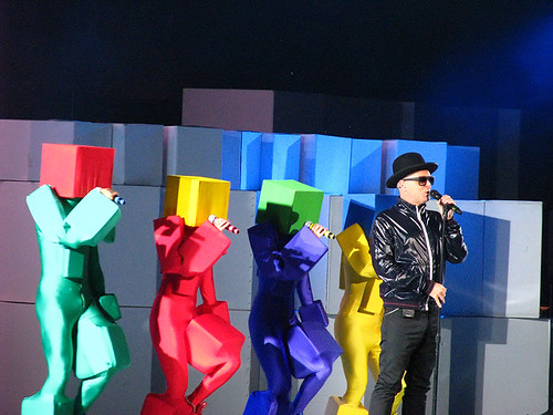 Pet Shop Boys @ Virgin Festival: photo by Michael Ligon