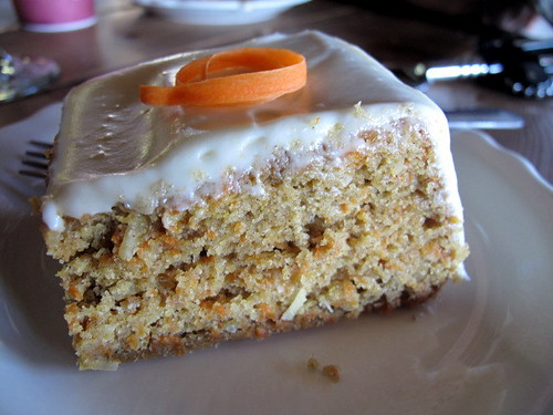 For Dessert - Carrot Cake from the Moosewood Cookbook