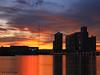 Miami sunset explosion -II (iCamPix.Net) Tags: canon landscape florida miami professionalphotographer 8496 explore140 miamisunset markiii1ds mostbeautifulsunset miamisunsetreflections