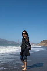 Baker beach (Xavier Contreras) Tags: sanfrancisco bakerbeach subrina