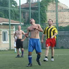 The strange tale of the gay football referee in Turkey (CharlesFred) Tags: gay shirtless hairy man male muscles turkey football skin muscle chest tur