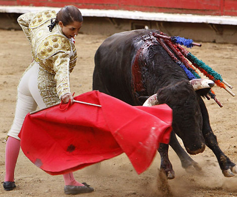 La torera gitana Vanesa Montoya