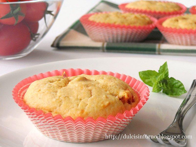 Muffins ai Pomodorini-Cherry Tomato Muffins