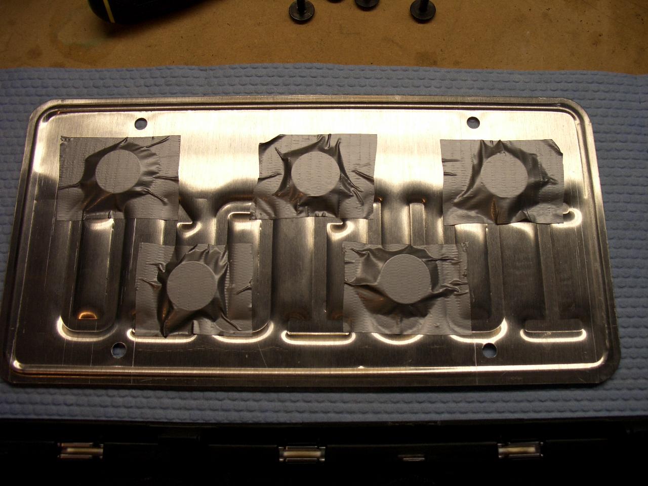& DIY: B7 Mag Mount Licence Plate