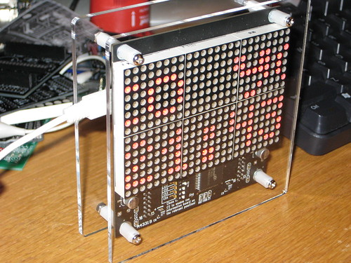 pong clock Search Results Hackaday