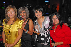 Hortence, Angie, Jo Ann, and Laura. (Flagman00) Tags: party reunion disco dance anniversary mixer highschool 30th alumni johnfkennedy 79 sanantoniotx classof1979 lauragutierrez mightyrockets angiedelarosahood joanncantuahmadi hortencemuoz bogeysnightclub