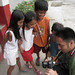 Baliwag Children viewing their photos