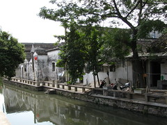 Ping Jiang Lu canal (jfpower) Tags: china street holiday john october asia suzhou power ping 2009 lu jiangsu jiang jfpower