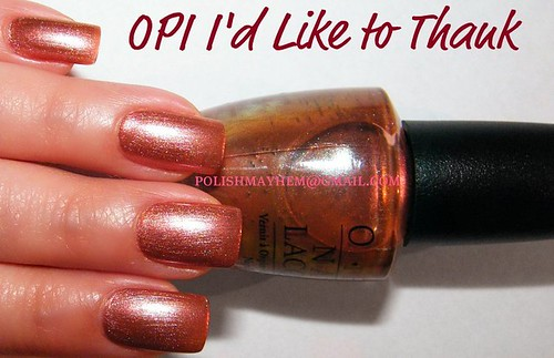 OPI I'd Like to Thank