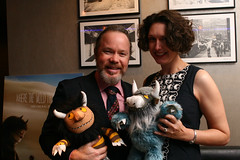 Allen Crawford and Susan Crawford (Rosenbach Museum & Library) Tags: philadelphia movie benefit fundraiser wherethewildthingsare screening warnerbros mauricesendak spikejonze rosenbachmuseumlibrary