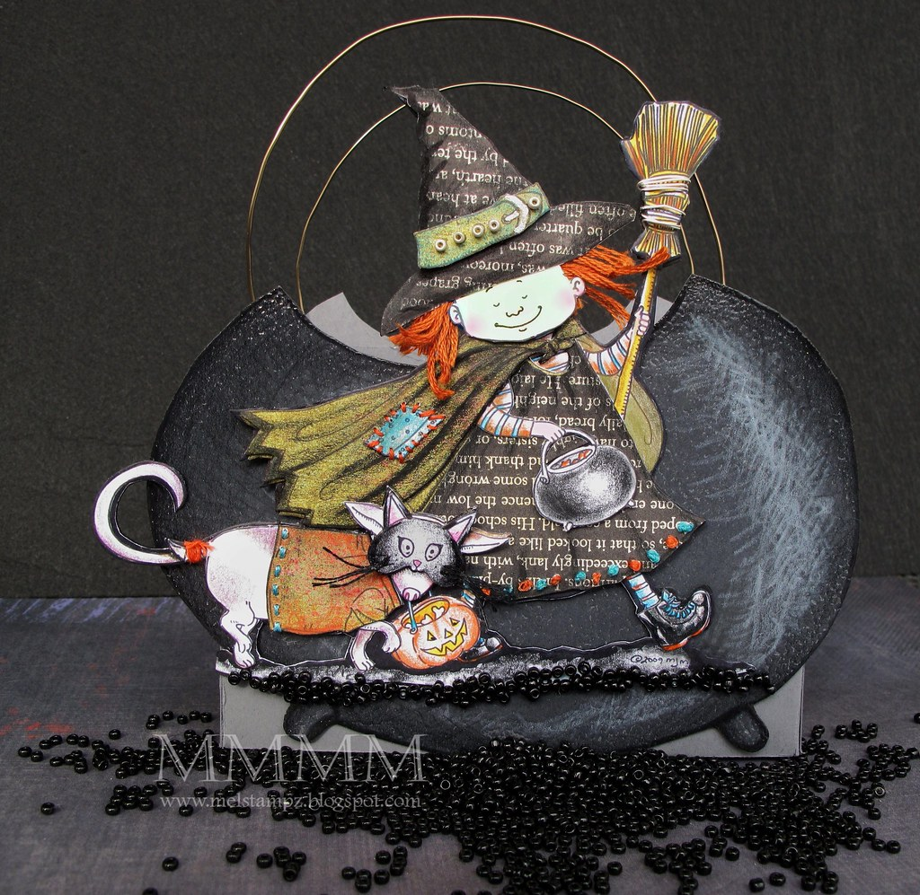 Mo's Digital Pencil Cauldron Box-trickORtreat digital freebie (mel stampz)