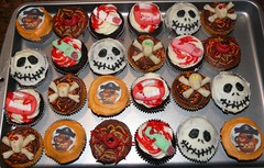 The Spooks Come Out at Nite (Sugar Daze) Tags: halloween jack skull spider cupcakes blood vampire finger gore nightmare crossbones
