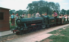 "BPR ""Sir Winston Churchill"" 10th July 1977 (Jay Tilston) Tags: railroad miniature inch railway 15 steam gauge narrow minimum"