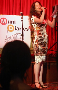 If want to sing out, sing out...and talk shit about Muni! photo from TheTenderBlog.com