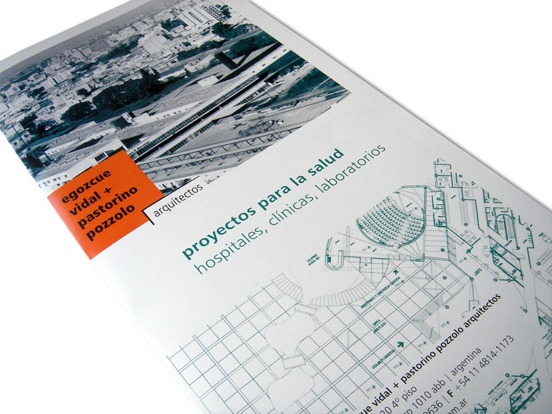 ev+pp architect studio leaflet