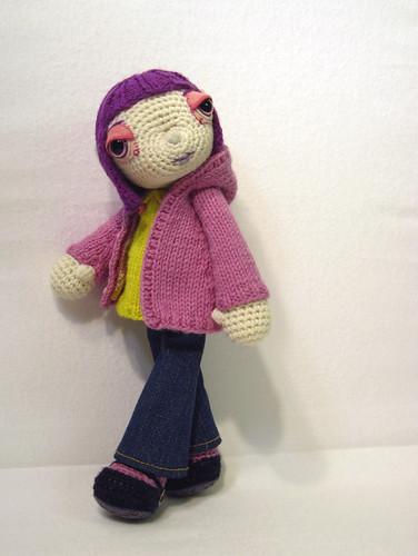 Вязаные куклы-глазастики от от Elisabeth Doherty -довольно симпатичны и необычны благодаря большим глазкам и...