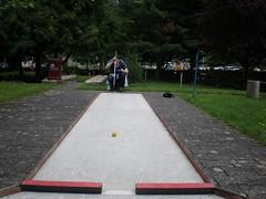 scott lining up the perfect shot...