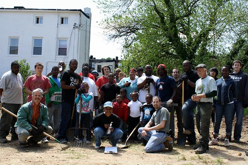 Franklin Square Blank Lot Project, June 13 Work Day