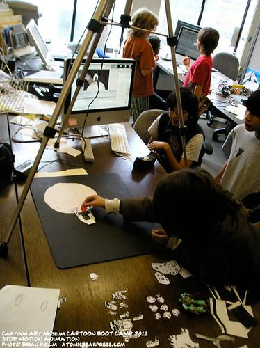 Cartoon Boot Camp 2011: stop-motion