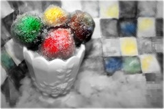 That's The Story Of Love (Ronaldo F Cabuhat) Tags: birthday travel blue winter red vacation food green art colors yellow canon dessert fun photography photo flavor candy chocolate creative photograph taste selectivecolor snowcones canoneosdigitalrebelxti cabuhat envelopedideas